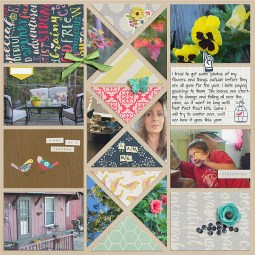 I Am - October 2015 Collection by Pixels and Company I Am - Everyday Life Journal Cards   October 2015 by Pixels and Company Pocket Pages - Trendy Triangles by Gennifer Bursett