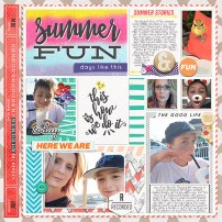 Ready-To-Go 12 x 12 Pocket Page Templates Weeks 27-30 by Just Jaimee
