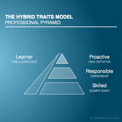 Hybrid Traits: Professional Pyramid