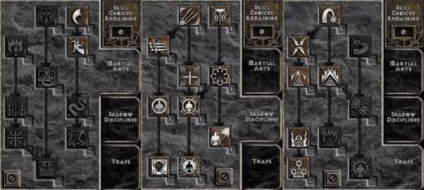 Diablo 2 Skill Tree