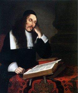 Baruch Spinoza, por Franz Wulfhagen, em 1664