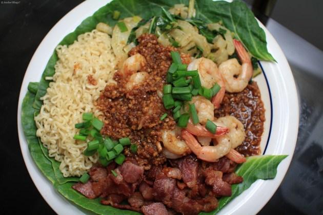 Bacon, Bak Choi and Shrimp © Andor (1)