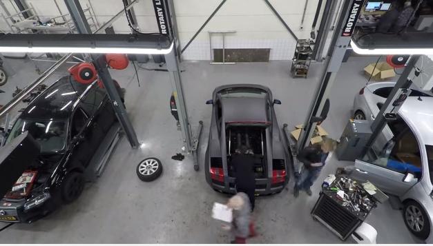 lamborghini gallardo engine maintenace movie video ランボルギーニ ガヤルド 整備 メンテナンス 動画