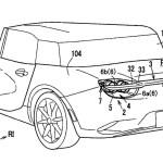 マツダが格好良い格納式リアスポイラーの特許出願。先日の「ドア」とあわせてRX-9に採用?