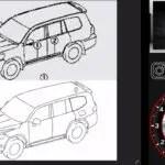 新型300系トヨタ・ランドクルーザーの技術図面が大量リーク