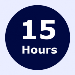 15 hour intensive driving course