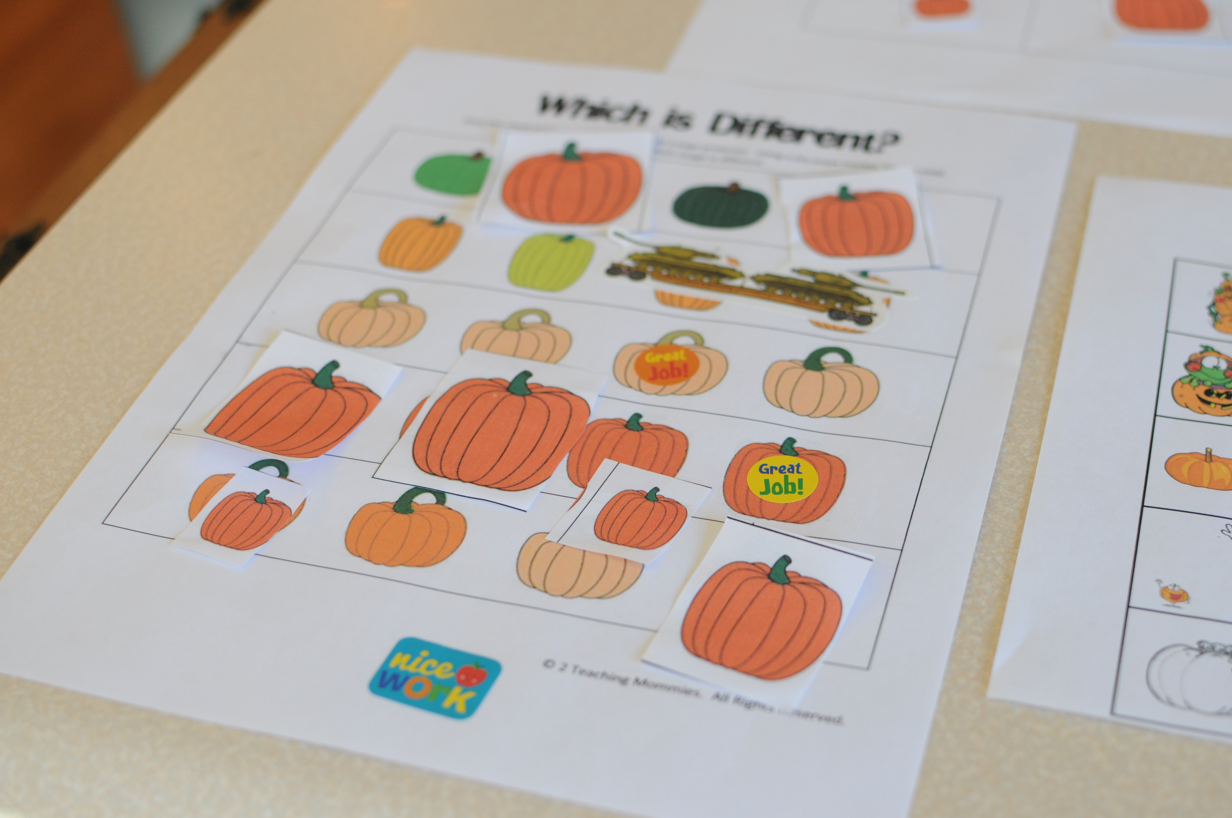 P Is For Pumpkin Intentional Toddler Time