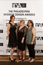 ASID PA East IDA's, Nancy Wildermuth Gala Chair, Kaye Taylor Gala CoChair & Competition Chair, Donna Daley PA East Chapter President