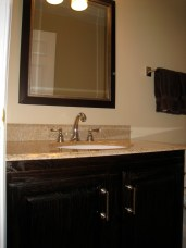 DIY AFTER - Before & After, Bathroom Vanity Makeover. intentionaldesigns.com