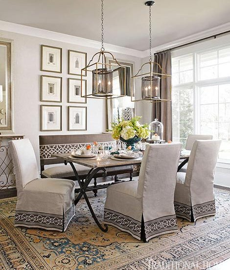 Traditional Home, Designer Crysta Allsbrooks Parish, who created this serene space for the 2013 O'More Designer Showhouse