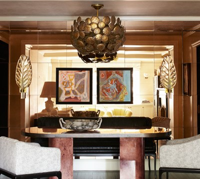 Cameron Diaz Manhattan Apartment - Kelly Wearstler Celebrity Interiors - ELLE DECOR