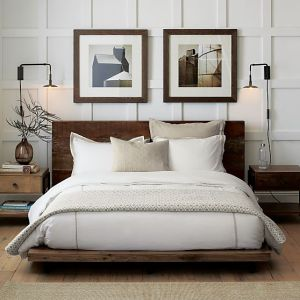 Crate and Barrel.  Atwood Bed without Bookcase Footboard.
