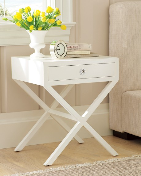 From Williams-Sonoma Home: Hudson Side Table