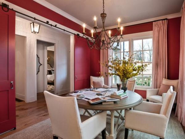 dining chairs, Color flow in homes
