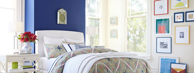 Pottery Barn's Spring/Summer 2014 Paint Palette by Sherwin-Williams