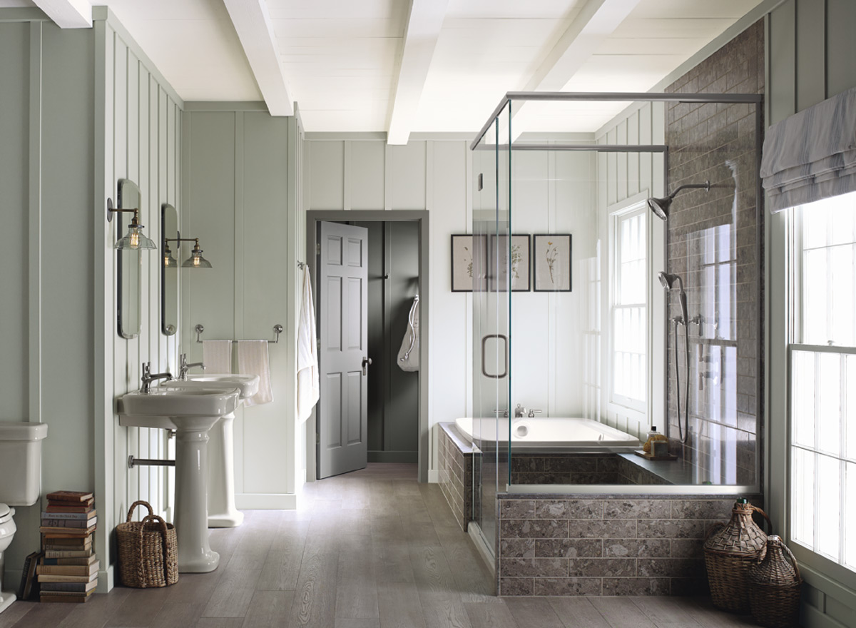Benjamin moore gray mirage 2142 50 archives intentional for Gray paint color