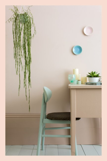 Farrow and Ball Pink Ground No. 202 2015 Key Colours