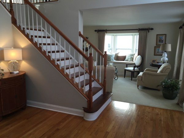 After. Before and After ... Staircase Refinishing
