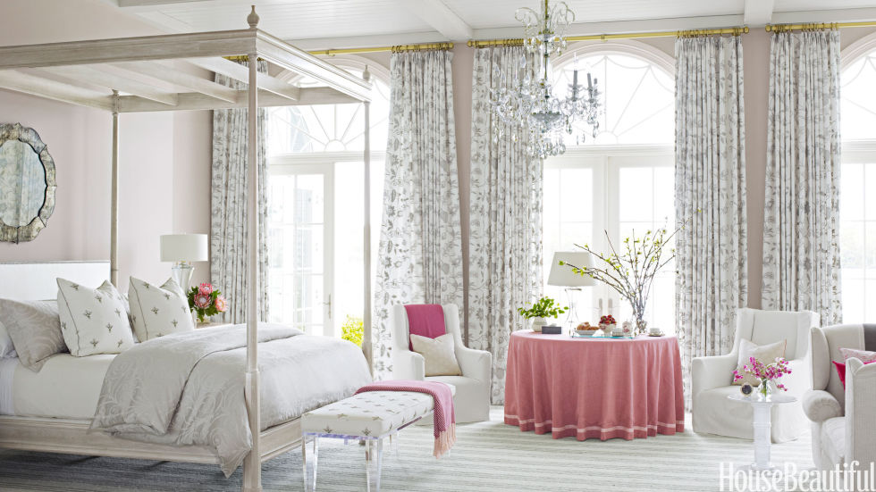 Pink Home Accessories, House Beautiful, Designer Marshall Watson