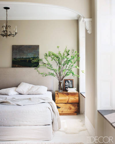 Celebrity Bedrooms, Keri Russell's Brooklyn Home Master Bedroom