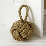 Top 10 Hostess Gifts, Two's CompanyMARSEILLE KNOT DOOR STOPPER