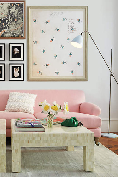 Linen Grand Willoughby Sofa from Anthropologie.com