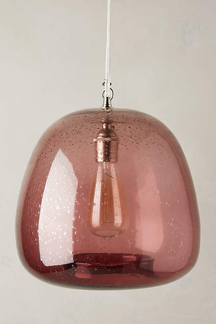 Glass Carafe Pendant Lamp from Anthropologie.com