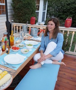 home decorating, diy Cozy Colorful & Comfy Kitchen Seating