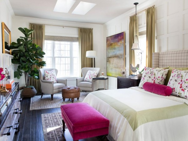 2 Key Bedroom Design Ideas, HGTV Smart Home 2016 Master Bedroom