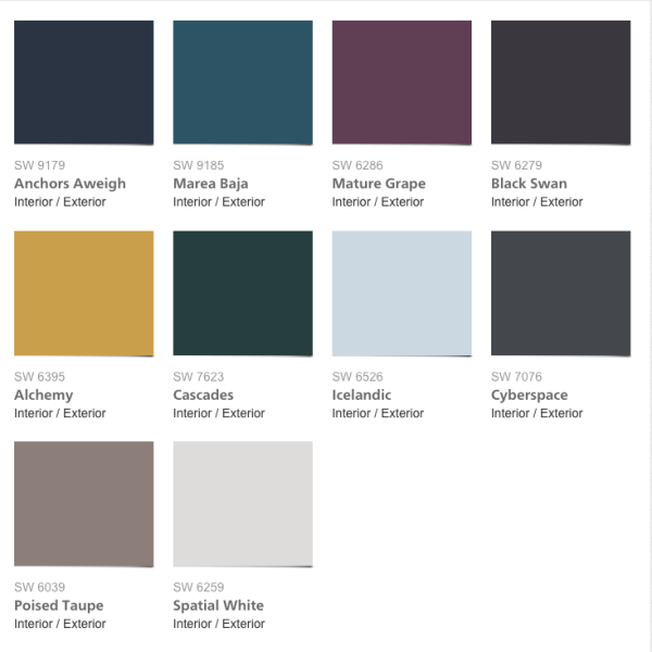 New 2017 Paint Colors Sherwin Williams Intentionaldesigns Com