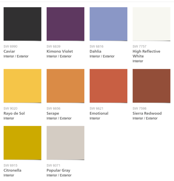 2017 paint Colors, Sherwin-Williams 2017 Colormix Collection Intrepid
