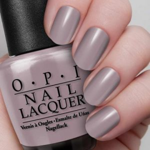 purple hue, OPI Taupe-less beach