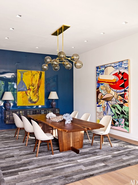 Accent Wall, ArchitetecturalDigest.com Surprising ways to display your art