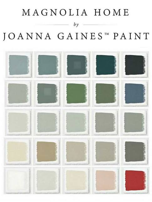 Joanna Gaines Paint
