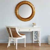 mirrors, spring decorating, gold home decor