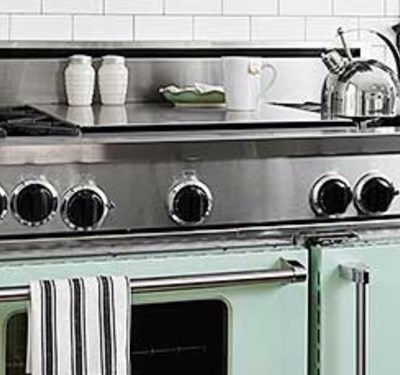 just for the fun of it, 6 colorful kitchen ranges