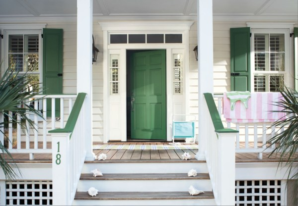 Front Door Paint Color, summer white