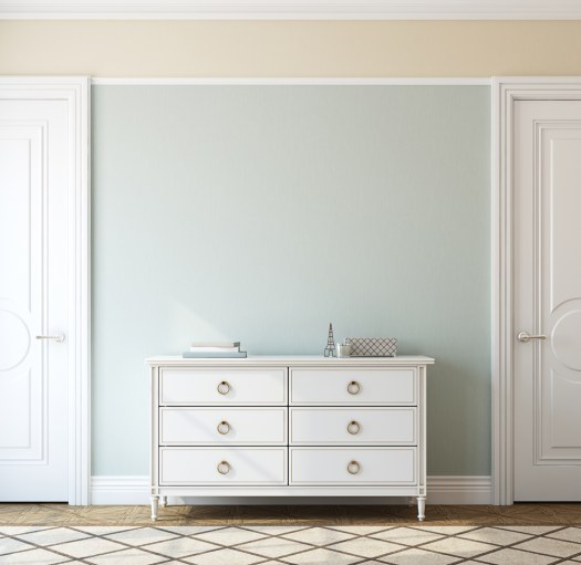 1 Room With 2 Paint Color Options, Warm Or Cool