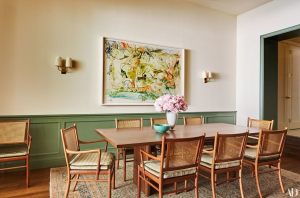 dining room, accent wall options, wainscoting