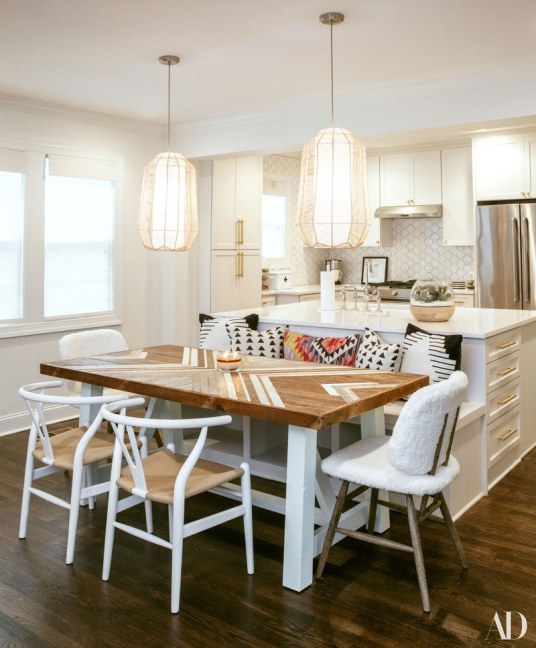 all-white room, decorating style, all white kitchen