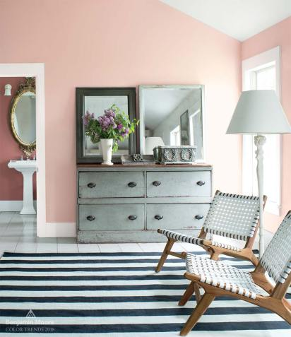 12 colors, 2018 Decorating Trends