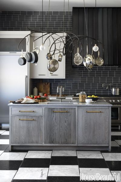 Multi-Finish Kitchen Cabinetry trending in 2018