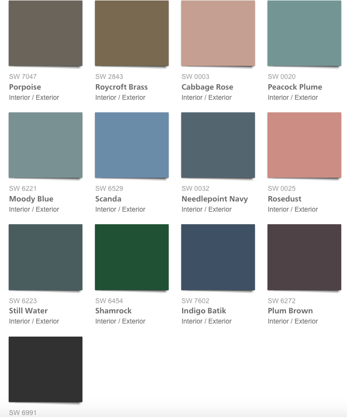 Wall Paint Colors 2019