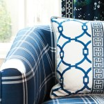 Tanner Pillow, Circle Pattern Fabric