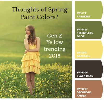 Top 5 2018 Paint Colors of the Year