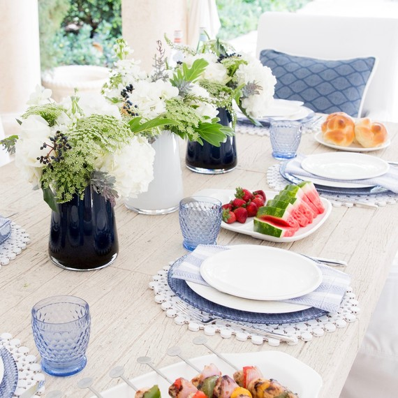 diy outdoor table settings