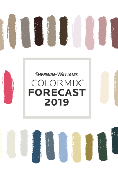 Colormix Forecast 2019, Sherwin-Williams