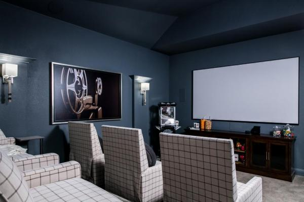 HGTV Smart Home 2019, Home Theatre