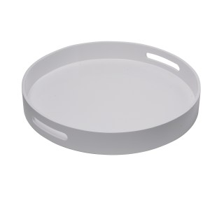 Levi Round Lacquer Tray, Large
