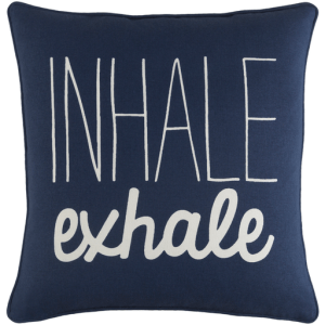 Vinyasa Pillow, Navy